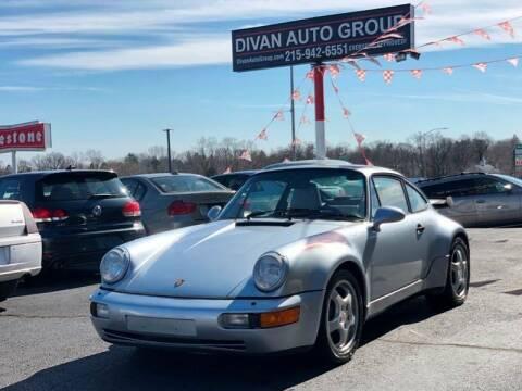 1992 Porsche 911 for sale at Divan Auto Group in Feasterville Trevose PA