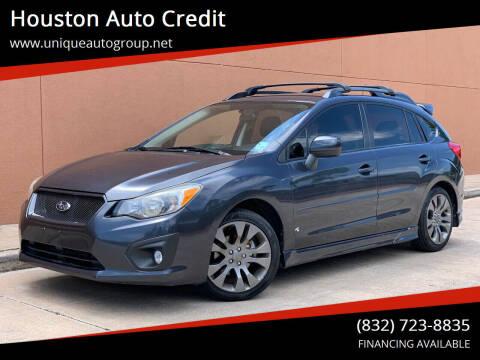 2013 Subaru Impreza for sale at Houston Auto Credit in Houston TX