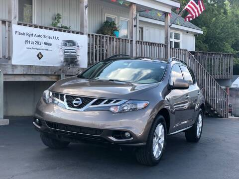 2014 Nissan Murano for sale at Flash Ryd Auto Sales in Kansas City KS