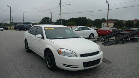 2006 Chevrolet Impala for sale at Kelly & Kelly Supermarket of Cars in Fayetteville NC