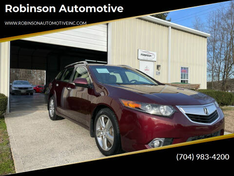 2012 Acura TSX Sport Wagon for sale at Robinson Automotive in Albermarle NC