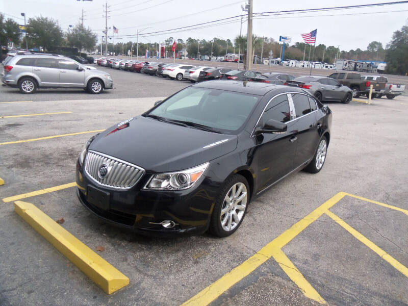 2012 Buick LaCrosse for sale at ORANGE PARK AUTO in Jacksonville FL