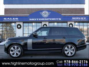 2019 Land Rover Range Rover for sale at Highline Group Motorsports in Lowell MA