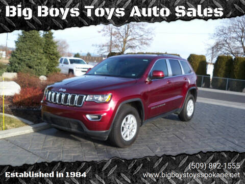 2020 Jeep Grand Cherokee for sale at Big Boys Toys Auto Sales in Spokane Valley WA