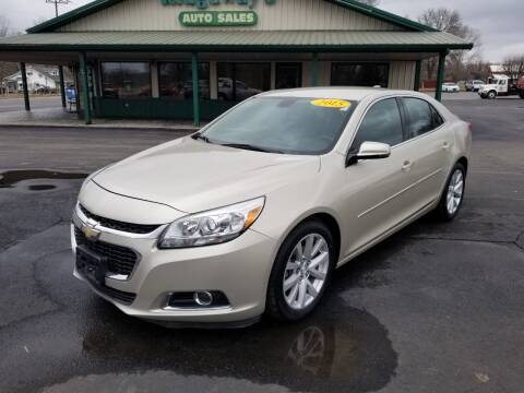 2015 Chevrolet Malibu for sale at Ridgeway's Auto Sales in West Frankfort IL