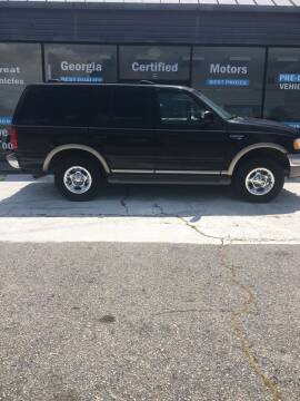 2001 Ford Expedition for sale at Georgia Certified Motors in Stockbridge GA