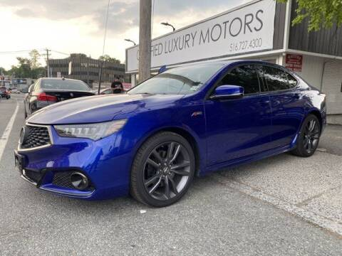 2018 Acura TLX for sale at Certified Luxury Motors in Great Neck NY