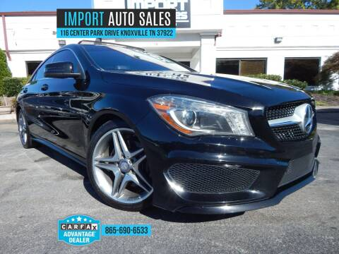 2014 Mercedes-Benz CLA for sale at IMPORT AUTO SALES in Knoxville TN