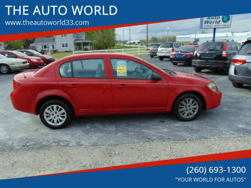 2009 Chevrolet Cobalt for sale at THE AUTO WORLD in Churubusco IN