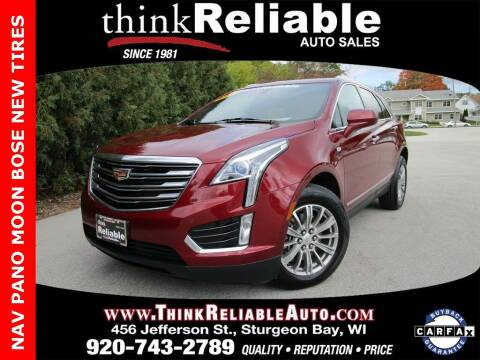 2017 Cadillac XT5 for sale at RELIABLE AUTOMOBILE SALES, INC in Sturgeon Bay WI
