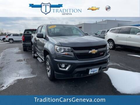 2016 Chevrolet Colorado for sale at Tradition Chevrolet Buick in Geneva NY