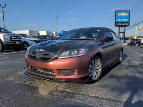 2014 Honda Accord for sale at Strosnider Chevrolet in Hopewell VA