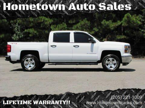 2014 Chevrolet Silverado 1500 for sale at Hometown Auto Sales - Trucks in Jasper AL