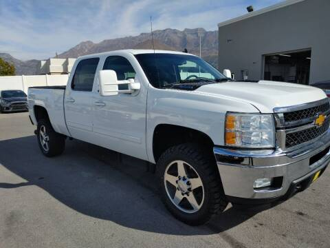 2013 Chevrolet Silverado 2500HD for sale at Canyon Auto Sales in Orem UT