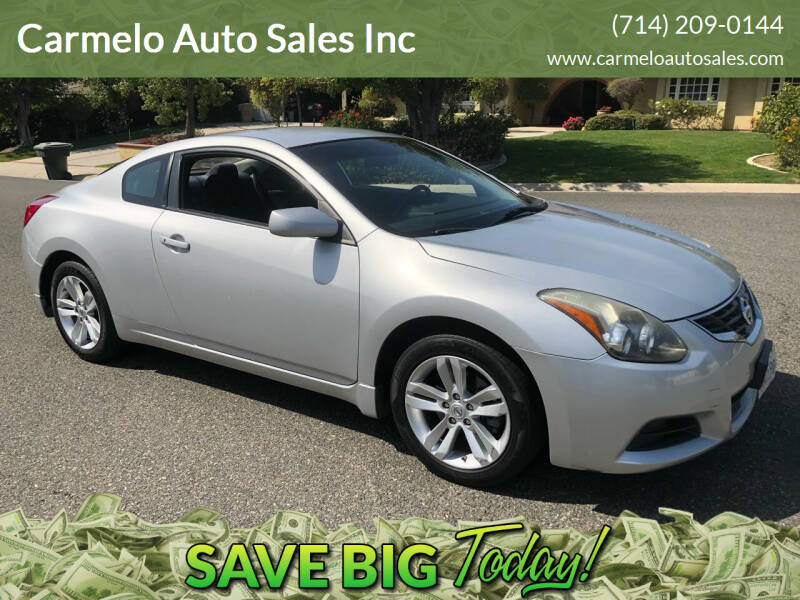 2012 Nissan Altima for sale at Carmelo Auto Sales Inc in Orange CA