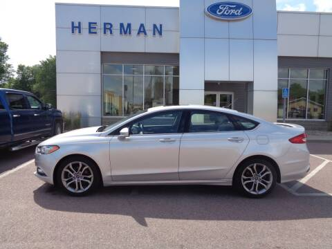 2017 Ford Fusion for sale at Herman Motors in Luverne MN