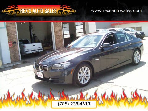 2014 BMW 5 Series for sale at Rex's Auto Sales in Junction City KS