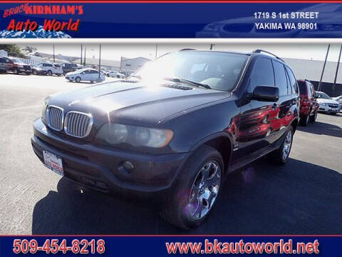 2002 BMW X5 for sale at Bruce Kirkham Auto World in Yakima WA