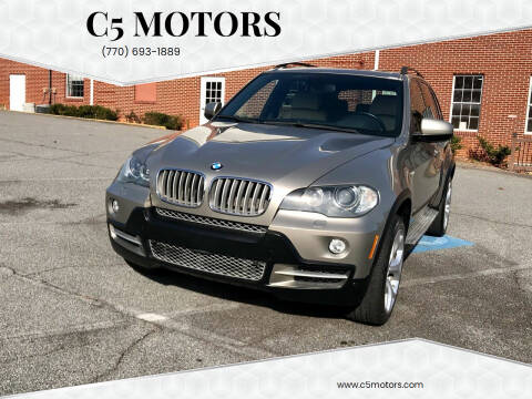 2007 BMW X5 for sale at C5 Motors in Marietta GA