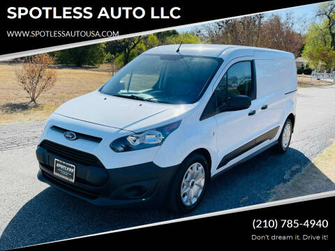 2018 Ford Transit Connect Cargo for sale at SPOTLESS AUTO LLC in San Antonio TX