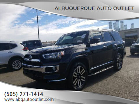 2018 Toyota 4Runner for sale at ALBUQUERQUE AUTO OUTLET in Albuquerque NM