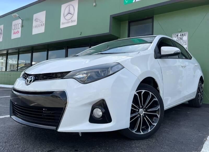 2014 Toyota Corolla for sale at KARZILLA MOTORS in Oakland Park FL