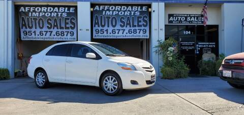 2007 Toyota Yaris for sale at Affordable Imports Auto Sales in Murrieta CA