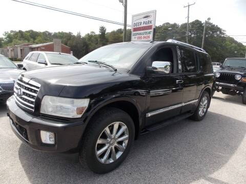 2010 Infiniti QX56 for sale at Deer Park Auto Sales Corp in Newport News VA