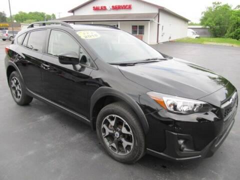2018 Subaru Crosstrek for sale at Thompson Motors LLC in Attica NY