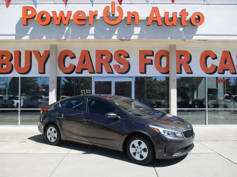 2017 Kia Forte for sale at Power On Auto LLC in Monroe NC