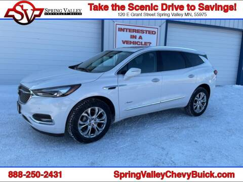 2020 Buick Enclave for sale at Spring Valley Chevrolet Buick in Spring Valley MN