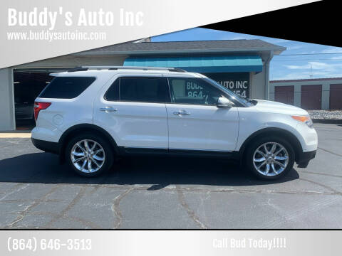 2014 Ford Explorer for sale at Buddy's Auto Inc in Pendleton, SC