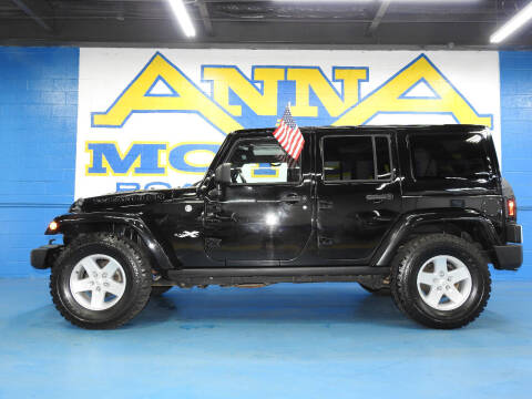 2015 Jeep Wrangler Unlimited for sale at ANNA MOTORS, INC. in Detroit MI