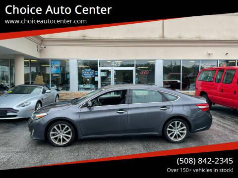 2014 Toyota Avalon for sale at Choice Auto Center in Shrewsbury MA