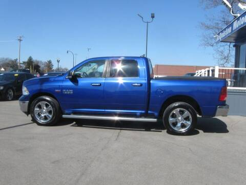 2014 RAM Ram Pickup 1500 for sale at MCQUISTON MOTORS in Wyandotte MI
