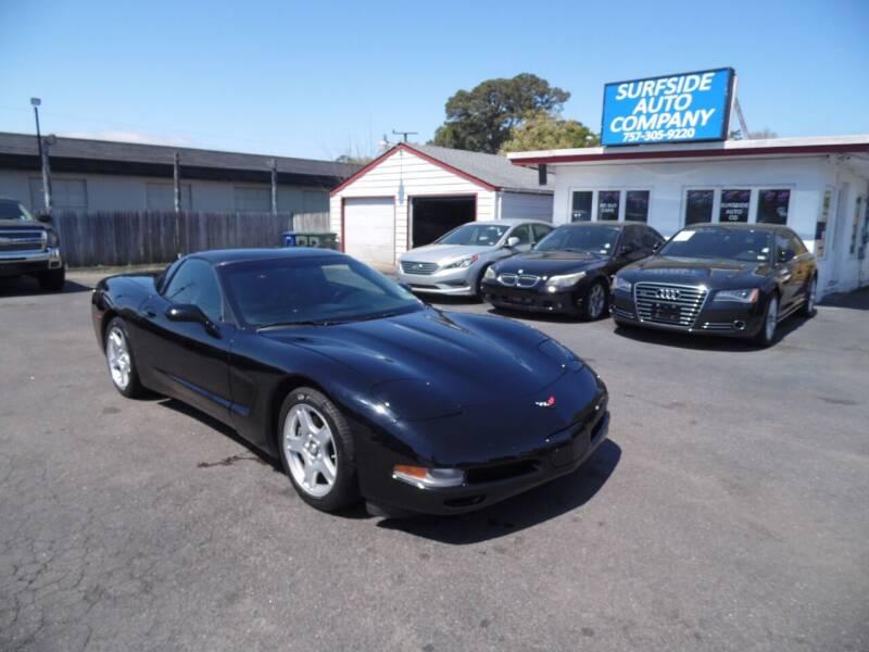 1997 Chevrolet Corvette for sale at Surfside Auto Company in Norfolk VA