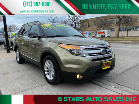 2012 Ford Explorer for sale at 6 STARS AUTO SALES INC in Chicago IL