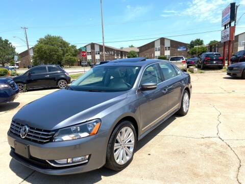 2013 Volkswagen Passat for sale at Car Gallery in Oklahoma City OK