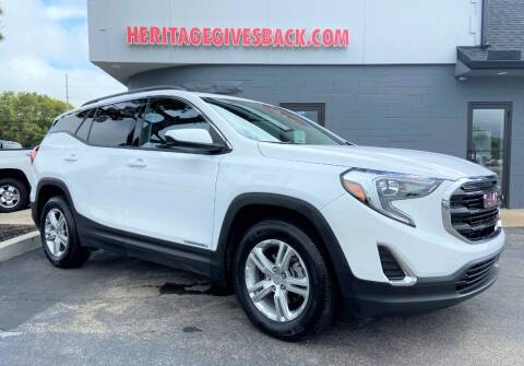2019 GMC Terrain for sale at Heritage Automotive Sales in Columbus in Columbus IN