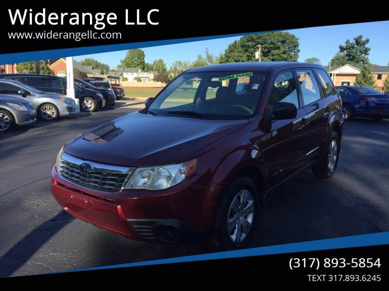 2010 Subaru Forester for sale at Widerange LLC in Greenwood IN