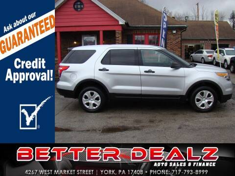2013 Ford Explorer for sale at Better Dealz Auto Sales & Finance in York PA