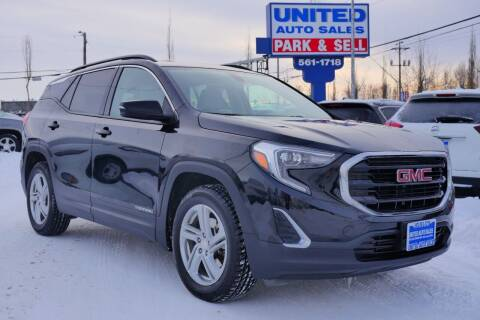 2019 GMC Terrain for sale at United Auto Sales in Anchorage AK