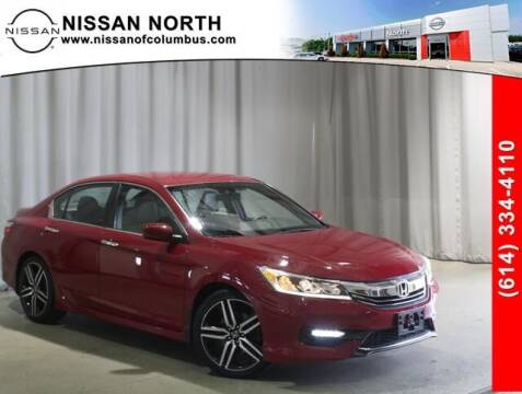 2016 Honda Accord for sale at Auto Center of Columbus in Columbus OH