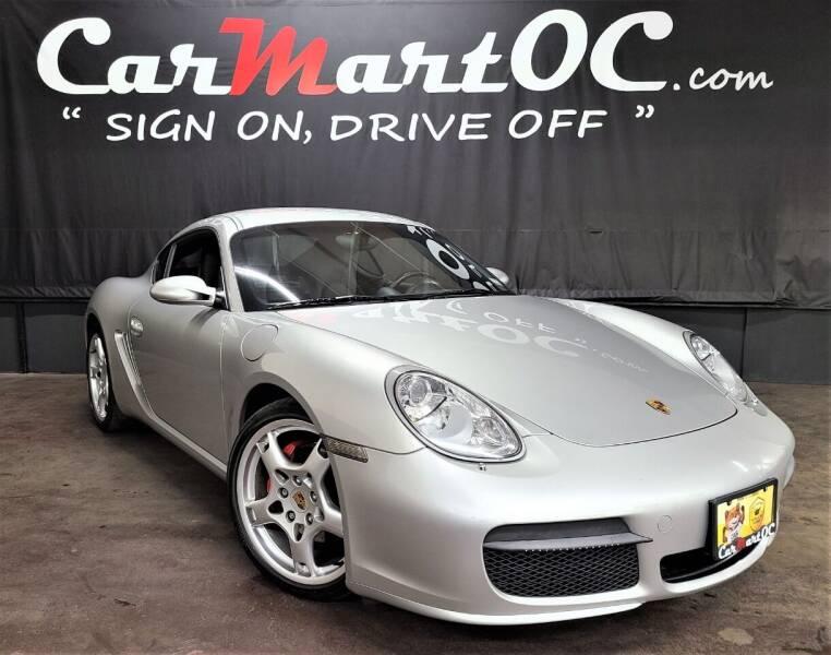 2007 Porsche Cayman for sale at CarMart OC in Costa Mesa, Orange County CA