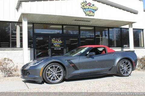 2018 Chevrolet Corvette for sale at Corvette Mike New England in Carver MA