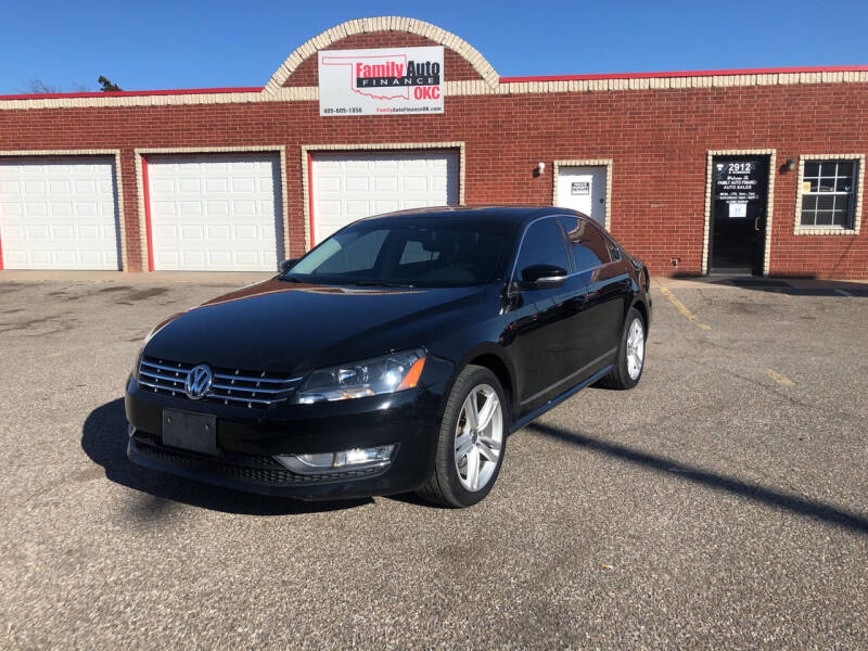 2013 Volkswagen Passat for sale at Family Auto Finance OKC LLC in Oklahoma City OK