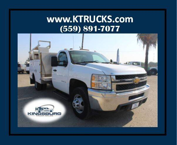 2013 Chevrolet Silverado 3500HD for sale at Kingsburg Truck Center - Utility Trucks in Kingsburg CA