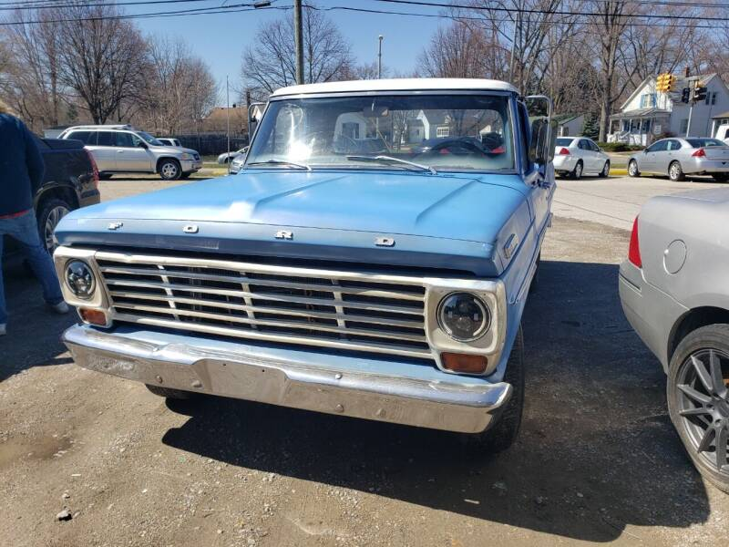 1967 Ford F-100 for sale at D & D All American Auto Sales in Mt Clemens MI