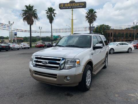 2012 Ford Expedition for sale at A MOTORS SALES AND FINANCE in San Antonio TX