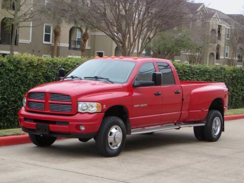 2003 Dodge Ram Pickup 3500 for sale at RBP Automotive Inc. in Houston TX